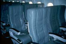 JetBlue Leather Seats - This picture is courtesy of http://pages.wooster.edu